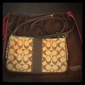 New Authentic Coach Canvas Bag #E3J - 6338